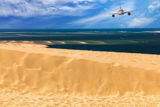 Dune du Pilat à découvrir en VTC depuis l'aéroport de Bordeaux